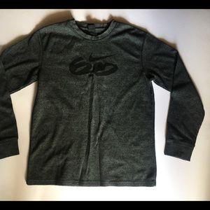 Nike Gray Thermal Long Sleeve
